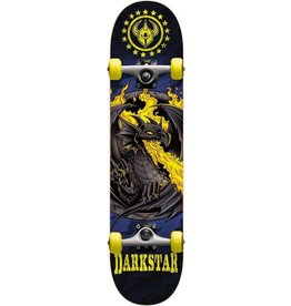 Darkstar Darkstar Dragon Yellow Skateboard