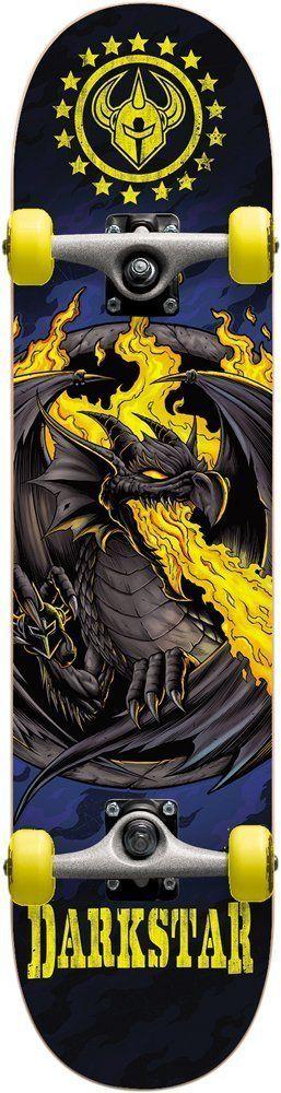 Darkstar Dragon Yellow Complete Skateboard