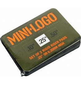 Mini Logo Skateboard  Riser Pads