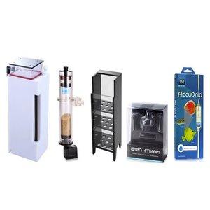 INNOVATIVE MARINE Aqua Gadget - Desktop Performance Pack - Ghost Skimmer, Minimax Reactor, Custom Caddy, Spinstream & Accudrip