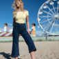 YogaJeans high-waist wide
