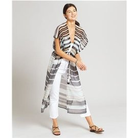 EchoDesign stripe caftan