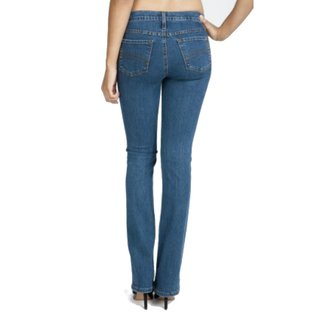 YogaJeans tall mid-rise boot cut jeans
