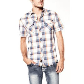 bauhaus plaid s/s shirt