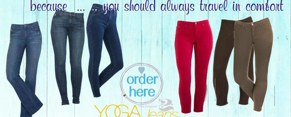 Travel Style in Yoga Jeans