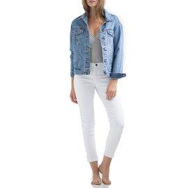 YogaJeans boyfriend jean jacket