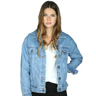 YogaJeans denim boyfriend jacket