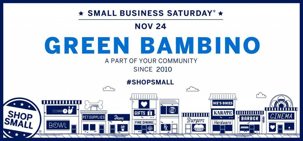 Small Business Saturday | November 24