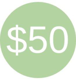 Cloth Diaper Bank Donation $50