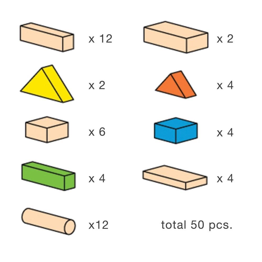 50 Blocks