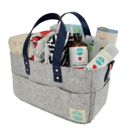 Luludew 3-in-1 Diaper Caddy