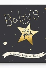 Lucy Darling First Year Memory Book Golden Stargazer