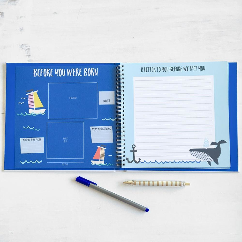 Lucy Darling First Year Memory Book Little Captain