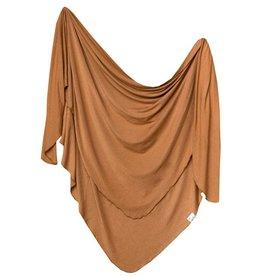 Copper Pearl Copper Pearl Knit Swaddle Blanket Camel