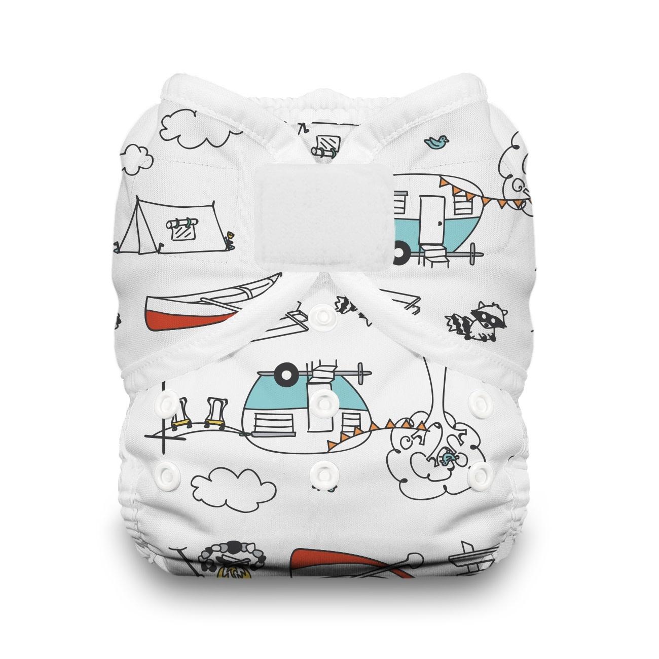 Thirsties Thirsties Duo Wrap size 1 H&L Happy Camper