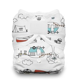 Thirsties Thirsties Duo Wrap Size 2 H&L Happy Camper