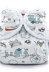 Thirsties Thirsties Duo Wrap Size 2 Snap Happy Camper