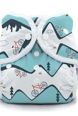 Thirsties Thirsties - Duo Wrap Size 1 Snap - Mountain Bike
