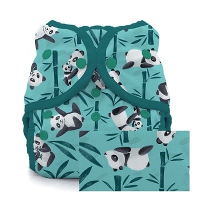Thirsties Thirsties Duo Wrap Size 3 Snap Pandamonium