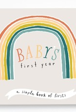 Lucy Darling First Year Memory Book Little Rainbow
