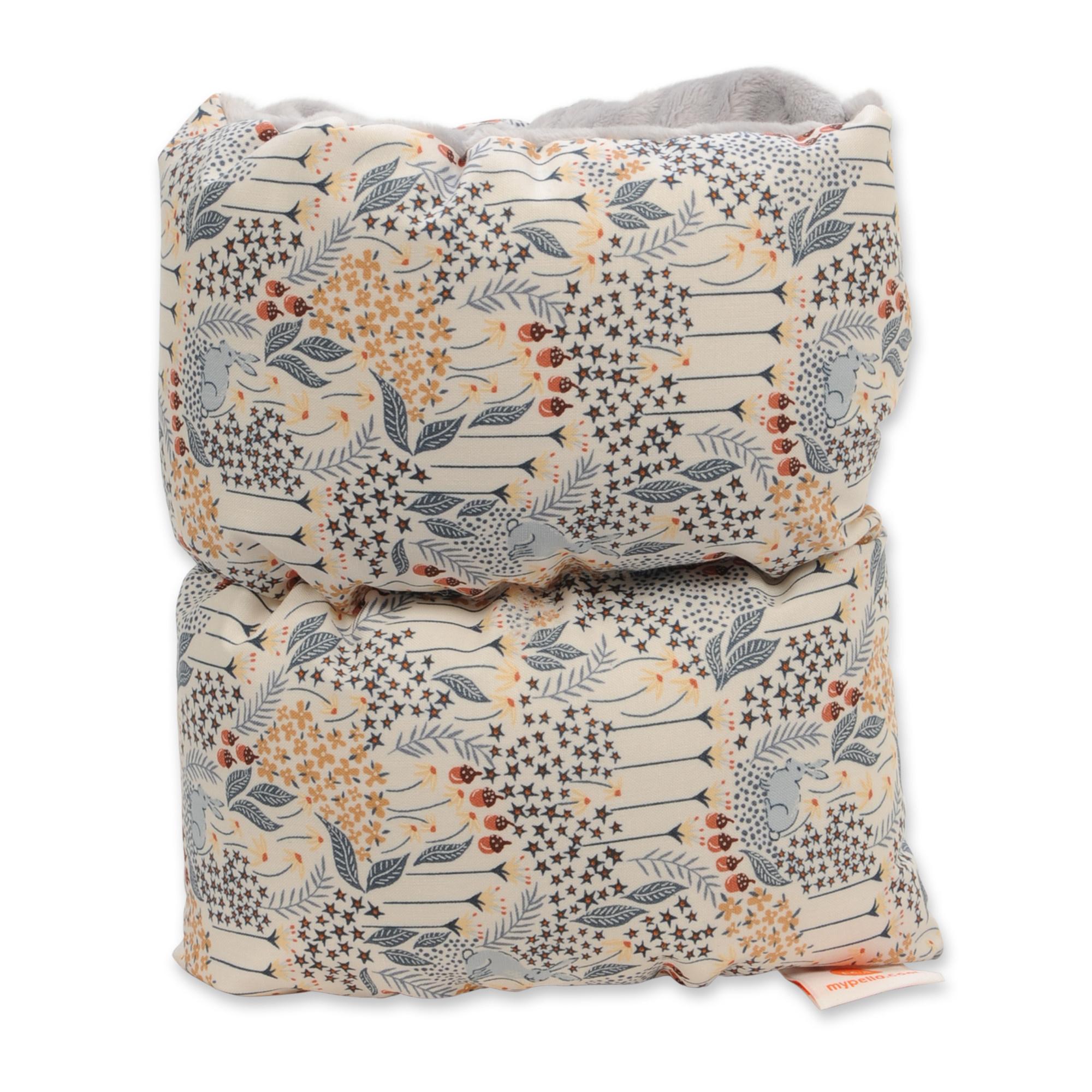 Pello Pello Comfy Craddle Nursing pillow Lane Light Gray