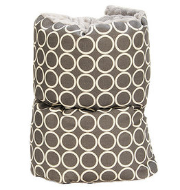 Pello Pello Comfy Cradle Nursing Pillow Majestic Gray