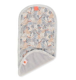 Pello Pello Burp Cloth Lane Light Gray