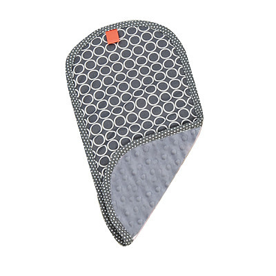 Pello Pello Burp Cloth Majestic Gray