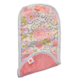 Pello Pello Burp Cloth Meadow Coral