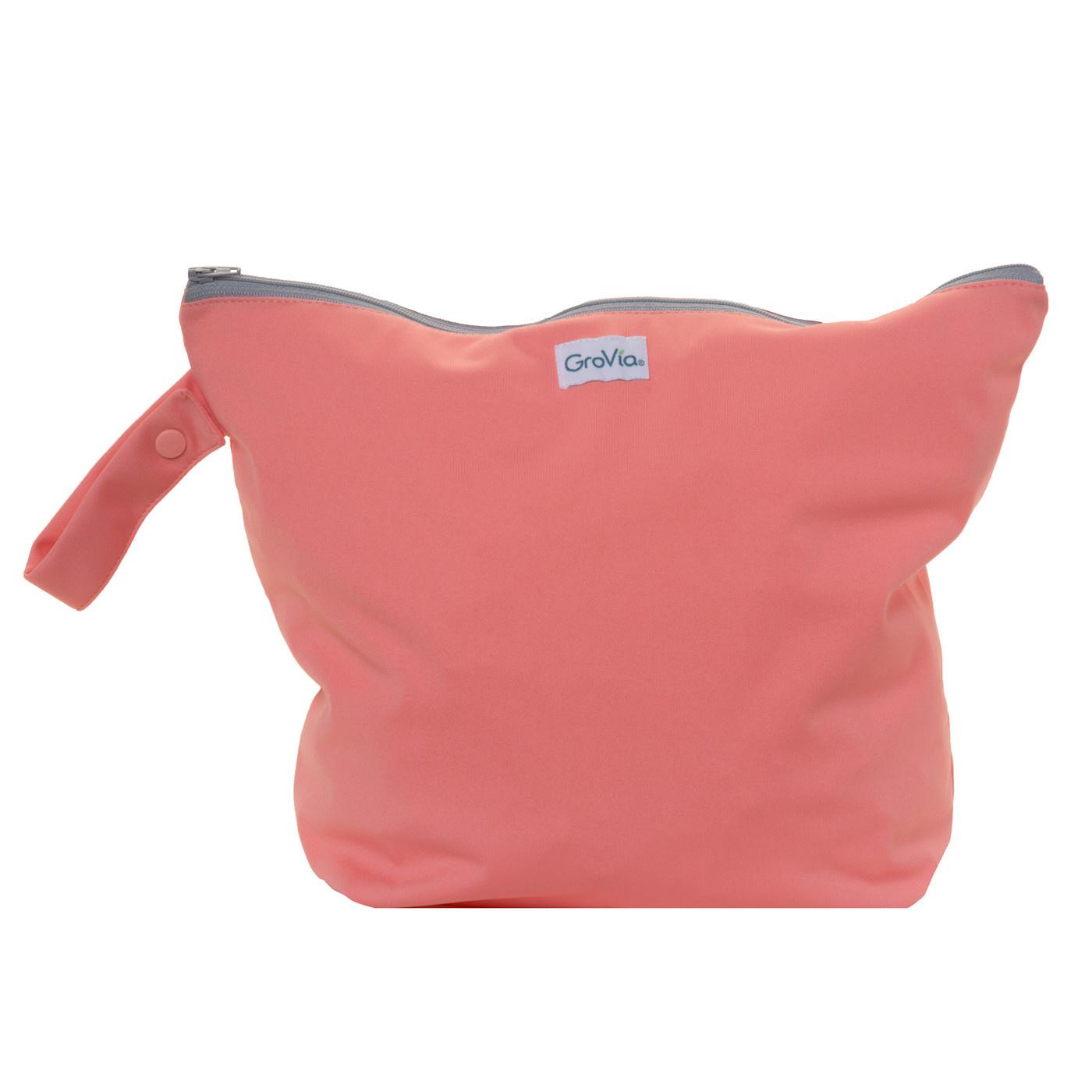 GroVia Zippered Wet Bag Rose