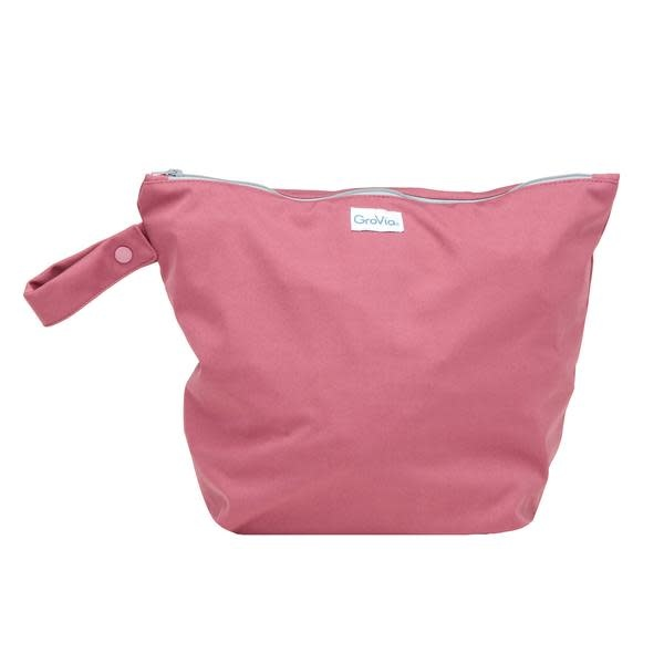 GroVia GroVia - Zippered Wet Bag - Petal