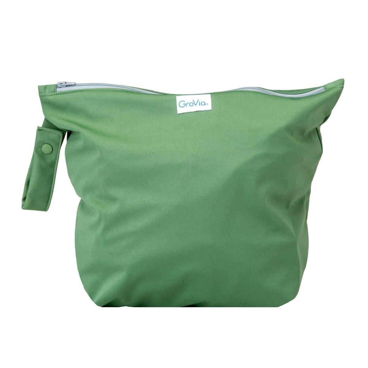 GroVia Zippered Wet Bag Basil
