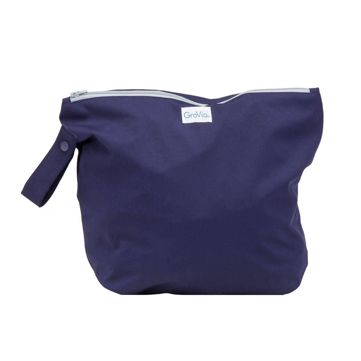 GroVia GroVia - Zippered Wet Bag - Arctic
