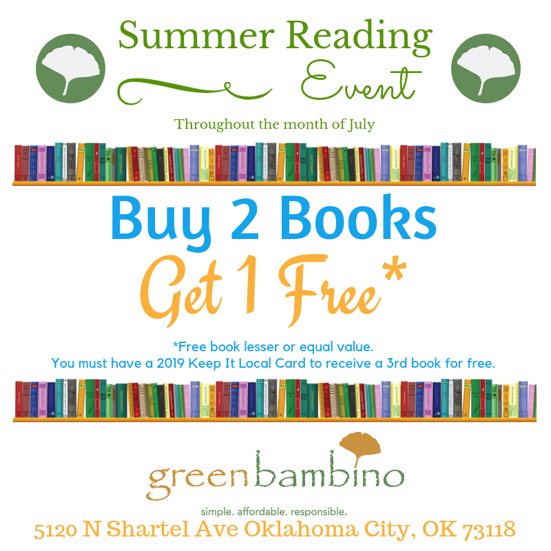July's Keep It Local Perk & Summer Reading Event!