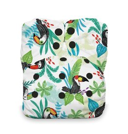 Thirsties Thirsties Natural One Size AIO Snap Toucan