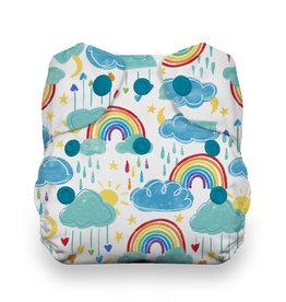 Thirsties Thirsties Newborn AIO Snap Rainbow