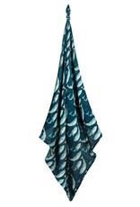 Milkbarn Milkbarn Bamboo Swaddle Blue Whale