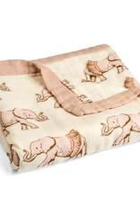 Milkbarn Milkbarn Big Bamboo Lovey Blanket Tutu Elephant