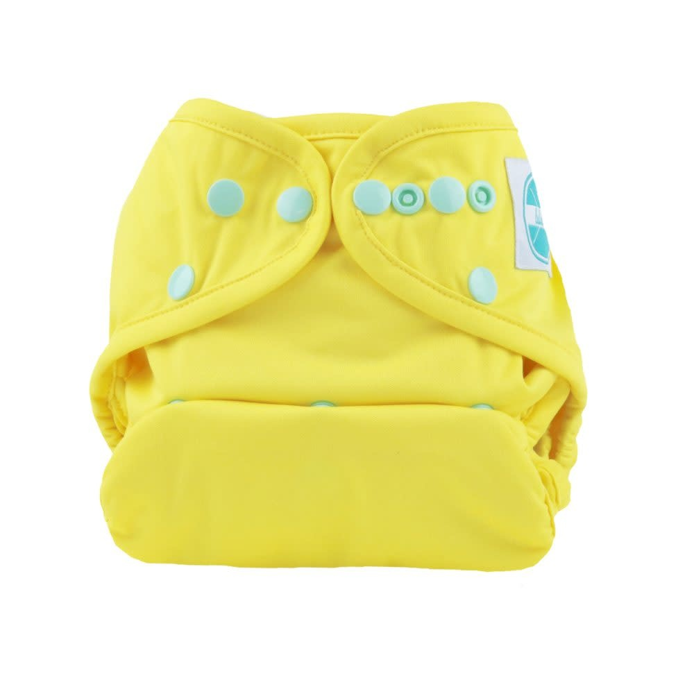 Luludew Convertible Diaper Cover One Size Luludew Canary