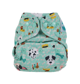 Luludew Convertible Diaper Cover One Size Luludew Woof
