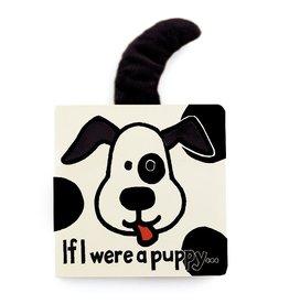Jellycat If I Were a Puppy (b&w) Tail Book