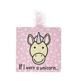Jellycat If I Were a Unicorn Tail Book