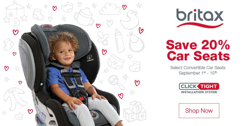 Britax September Baby Savings Event