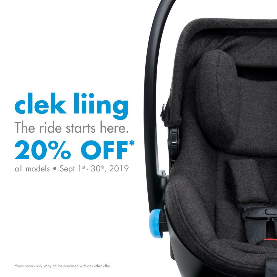 Clek Liing 20% Off Sale