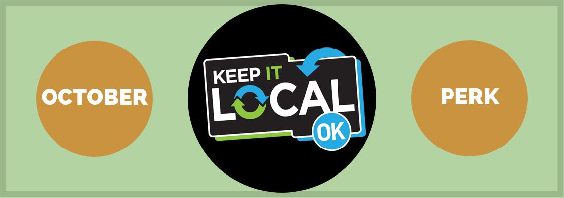 October Keep It Local OK Perk: Clothing