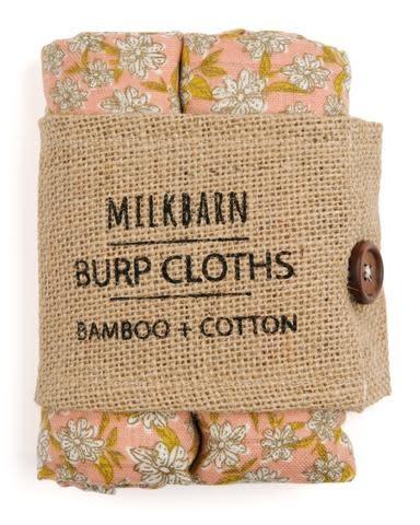 Milkbarn Milkbarn Bamboo Bundle of Burpies Rose Floral