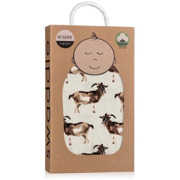 Milkbarn Milkbarn Organic Swaddle Goat