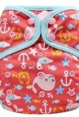 OsoCozy Newborn Diaper Cover Sea Life