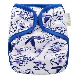 OsoCozy Newborn Diaper Cover Maritime