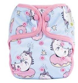 OsoCozy One Size Diaper Cover Unicorn